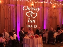 Wedding-Dj-CT-custom monogram-The Pavillion(1)