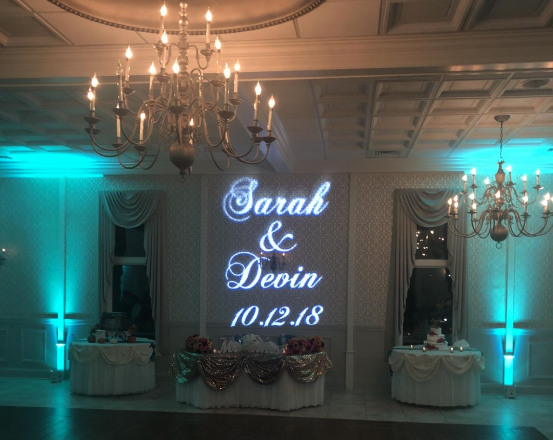 Wedding Monogram & Uplighting Services in CT